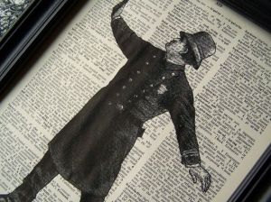 Vintage Keystone Cop Image