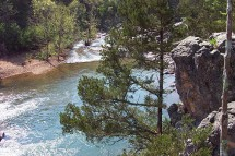 East Fork Black River at Johnson's Shut-ins State Park, Missouri.