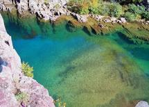 Clear Natural Pool at Johnson's Shut-ins State Park, Missouri