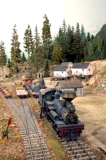 Model Trains- Pete Smith Sn3 Layout