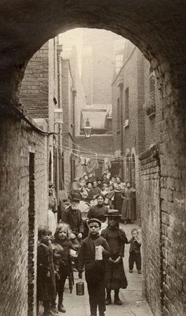 """Spitalfields Nippers"" by Horace Warner, c 1901-02,"