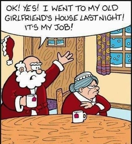 Mrs. Claus- Angry- Don't Get On Her List!