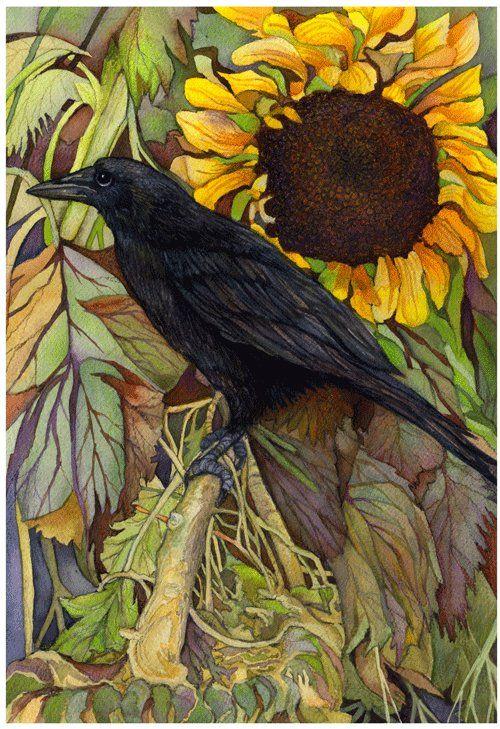 Crow Artwork (found on care2.com)