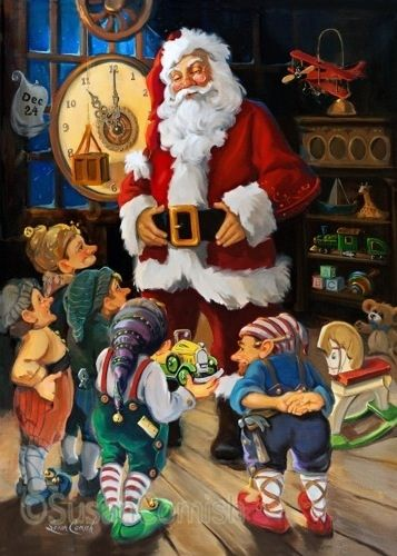 Santa Claus- Planning, Scheduling and Coordination Meeting