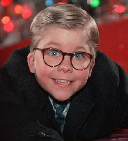 "Ralphie from ""A Christmas Story""- New Glasses!"