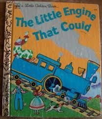 """The Little Engine That Could""- Goldenbook"