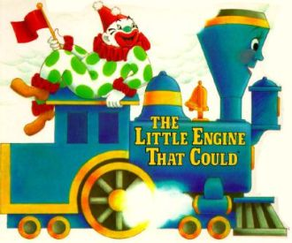 """The Little Blue Engine That Could"" with Clowns"