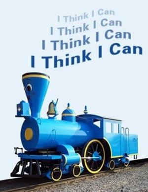 "The Little Blue Engine, from ""The Little Blue Engine That Could"""