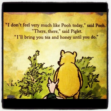 Tea and Honey-- Winnie the Pooh