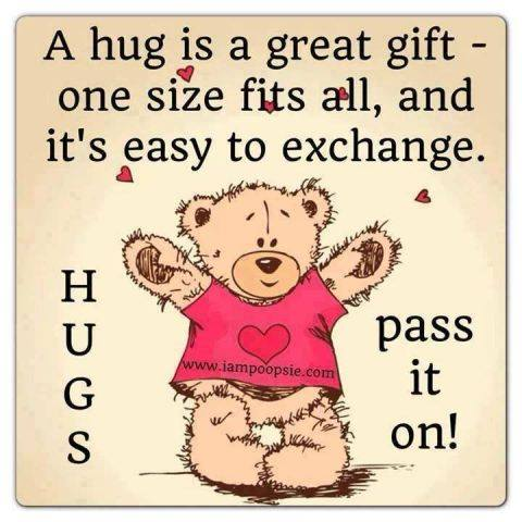Bear Hugs!   Perfect in all Sizes!