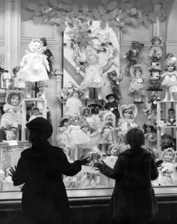 Christmas Window Dreaming-- photo by A. Aubrey Bodine - 1948