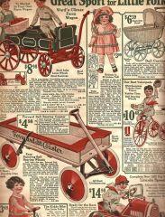 Vintage Montgomery Ward Catalog Image