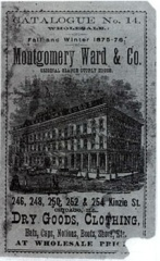 Vintage Montgomery Ward Catalog Cover Image