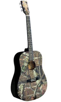 Camouflage 7- Mossy Oak Guitar
