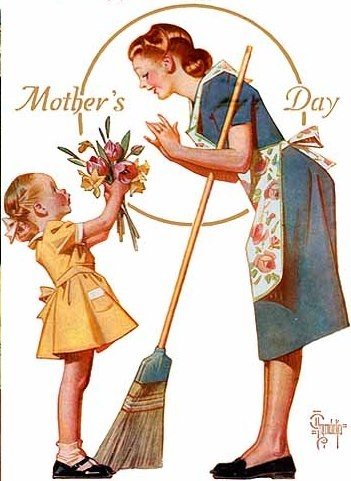 Vintage Mother's Day Image 4 Norman Rockwell
