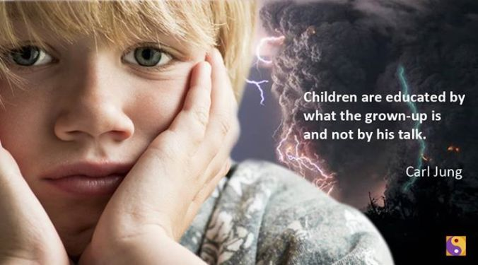 Children- Educated- Carl Jung
