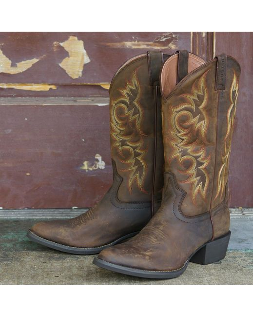 New Writing Boots- Justin Sorrel Apache Boots