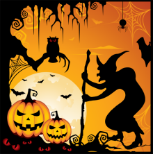 Holiday- Halloween- Art 9