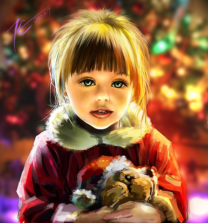 christmas-little-girl-art-by-xck-sesam-is-open-deviantart-dot-com-800-x-859-google