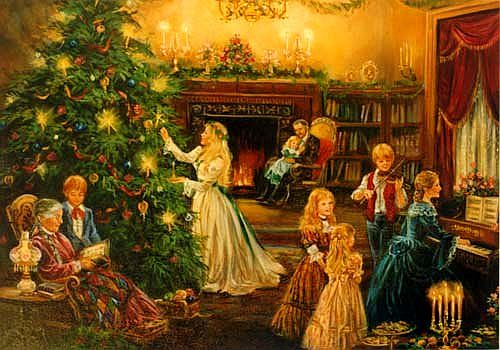Christmas- Old-fashioned Christmas- 2