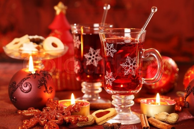 Food- Punch- Hot Cranberry Punch