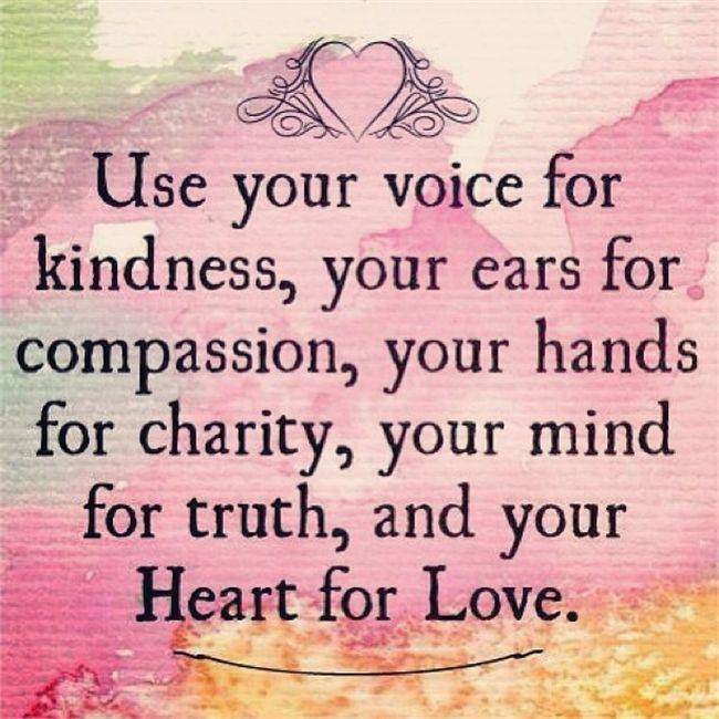 Quote- Kindness Instructions