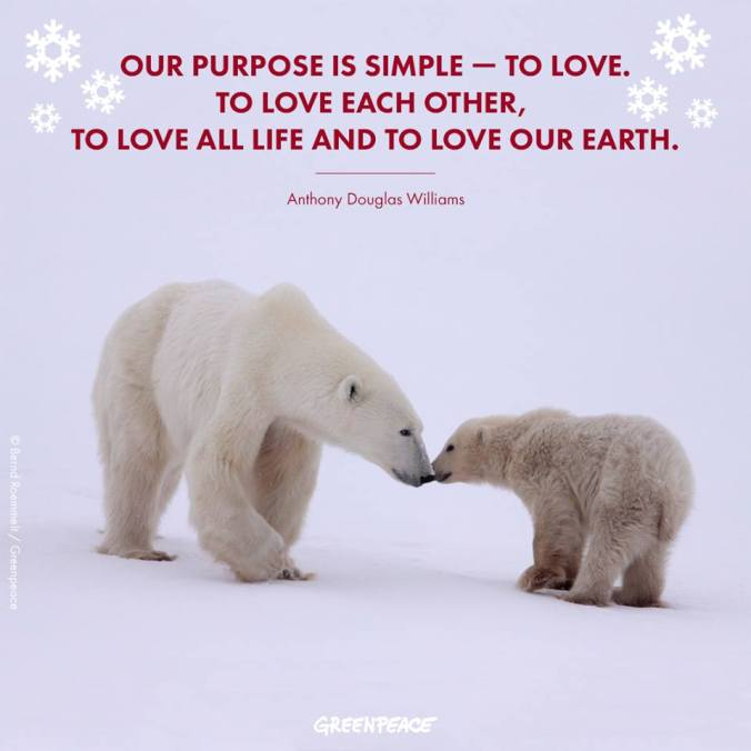 Quote- Love and Purpose