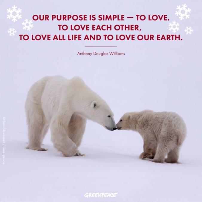 Quote- Love and Purpose