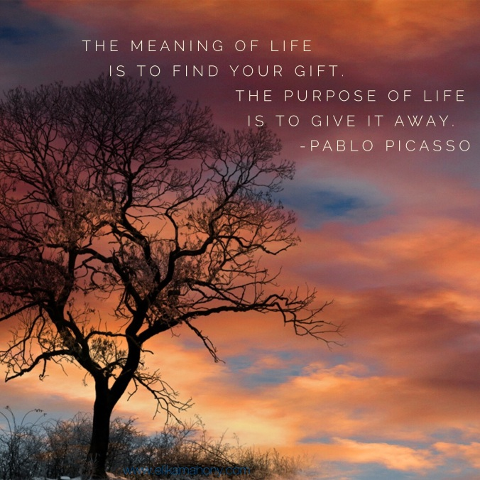 Quote- Meaning of Life- Picasso 4