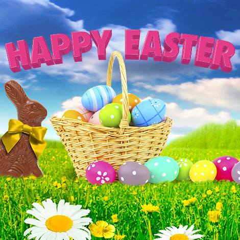 Holiday- Easter Bunny and Basket