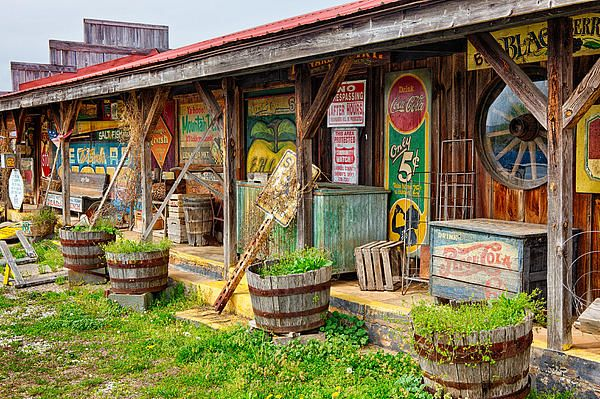 "Artwork -- ""Mt. Airy Old Country Store II"" by Dan Carmichael. (Prints available at dan-carmichael.pixels.com)"