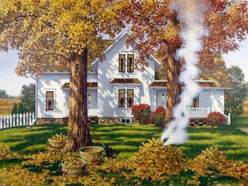 """Autumn Leaves"" by John Sloane"