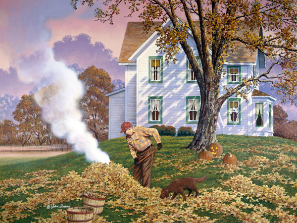 """Autumn Mood"" by John Sloane"