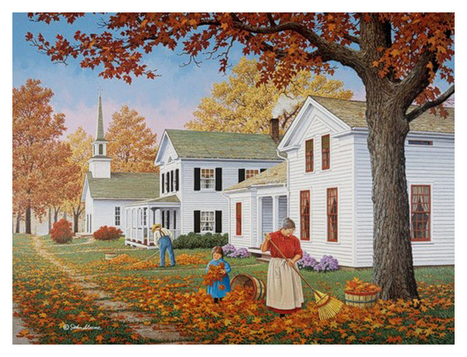 Autumn Painting by John Sloane