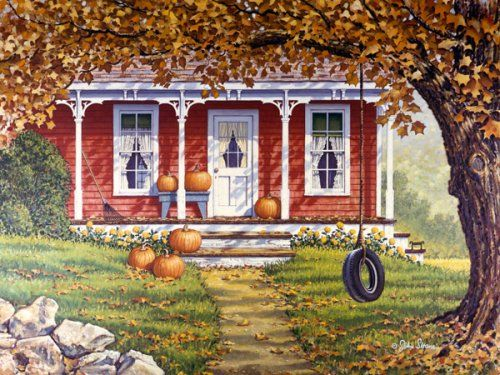 """Autumn Shadows"" by John Sloane"