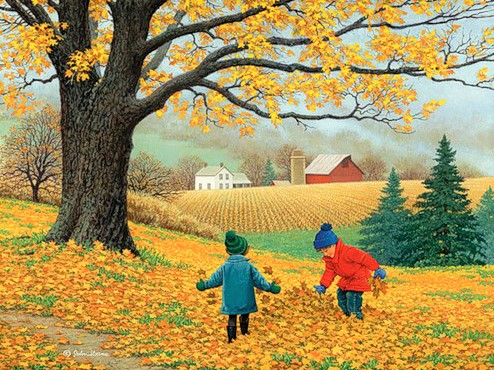 """Country Life"" by John Sloane"