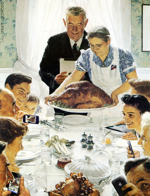 """Freedom From Want"" by Norman Rockwell, 1942"