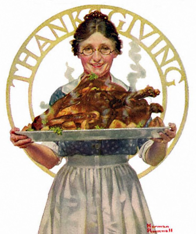 Art by Norman Rockwell