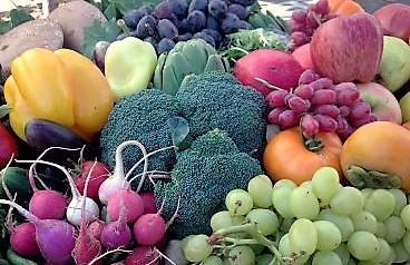 Food- Vegetable Market Bounty, via Google uncredited