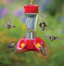 Four Port Hummingbird Feeder- via Duncraft.com