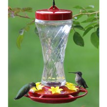 Medium Sized Hummingbird Feeder - via DrsFosterSmith.com
