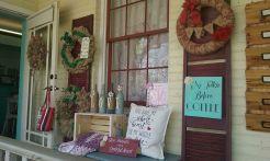 Outside Wall of Handmade on Main shop