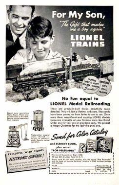 Vintage Lionel Ad 3